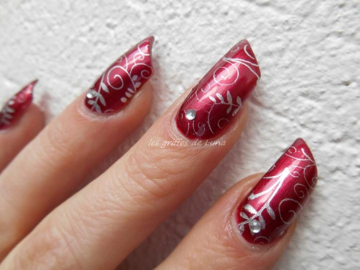 Nail art Romantique 4