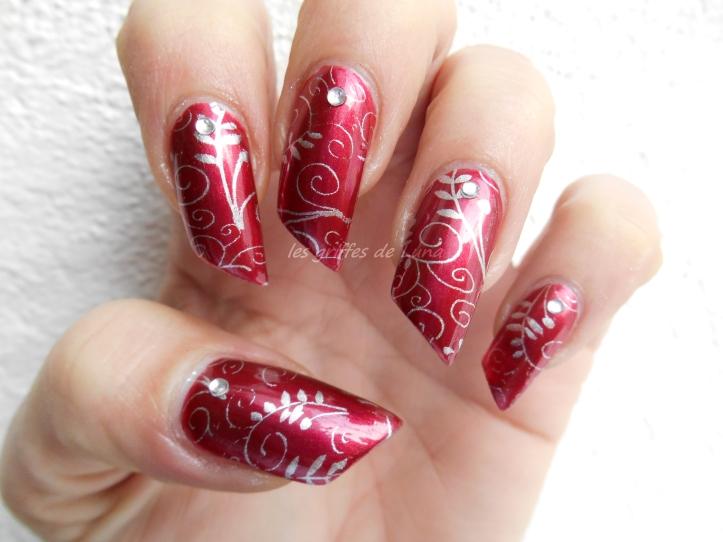 Nail art Romantique 5