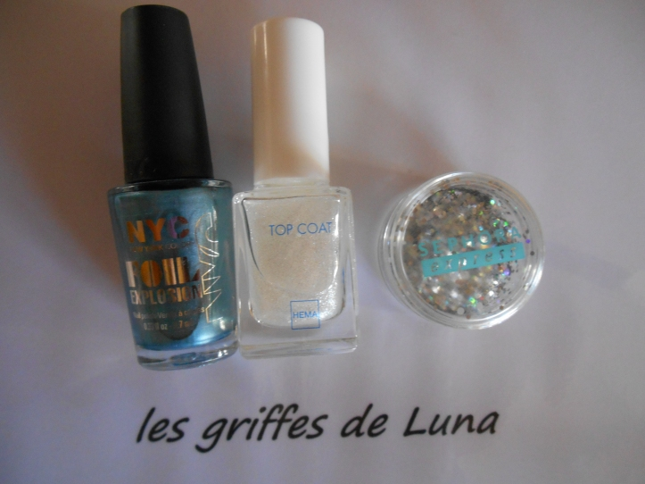 Nail art French simple materiel