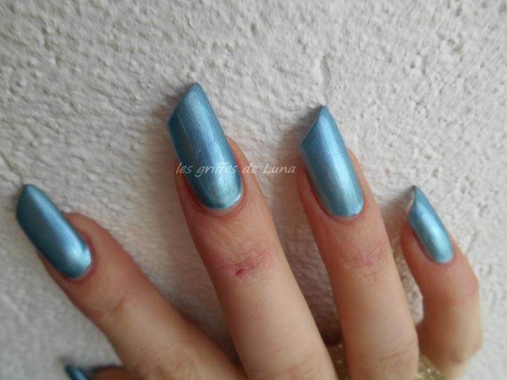 NYC Foil explosion Aqua mystic 013 bleu 3