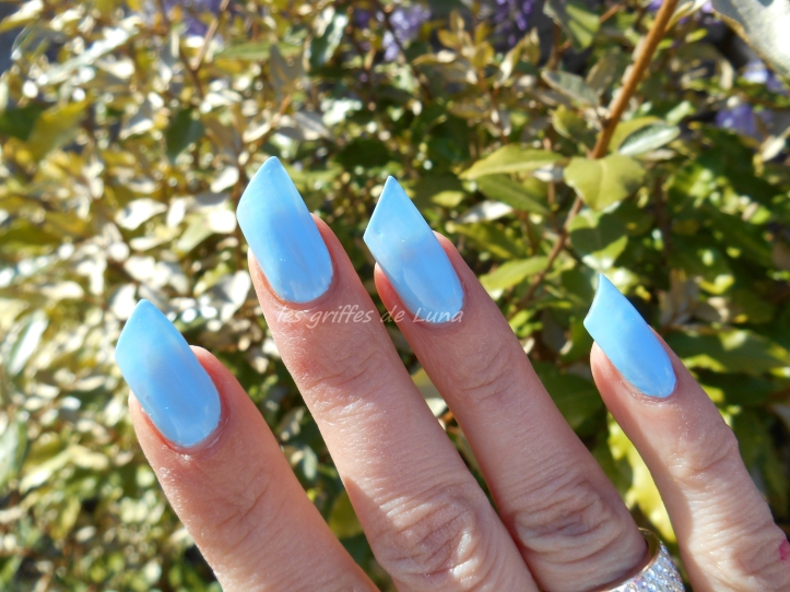CLAIRE'S Baby blue 3