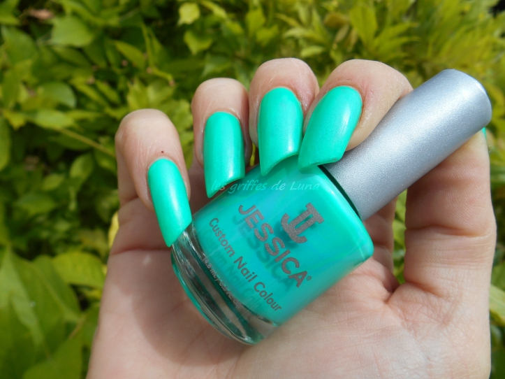 JESSICA 090 Electric teal 1