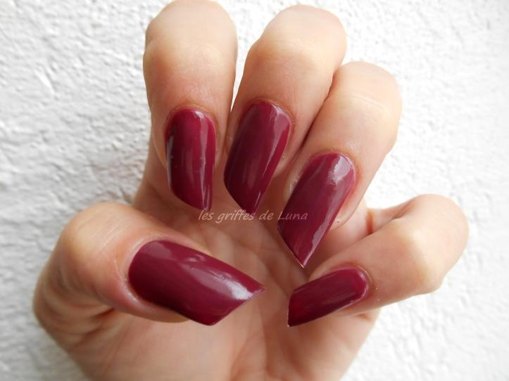 KIKO So Stylish Garnet red 4