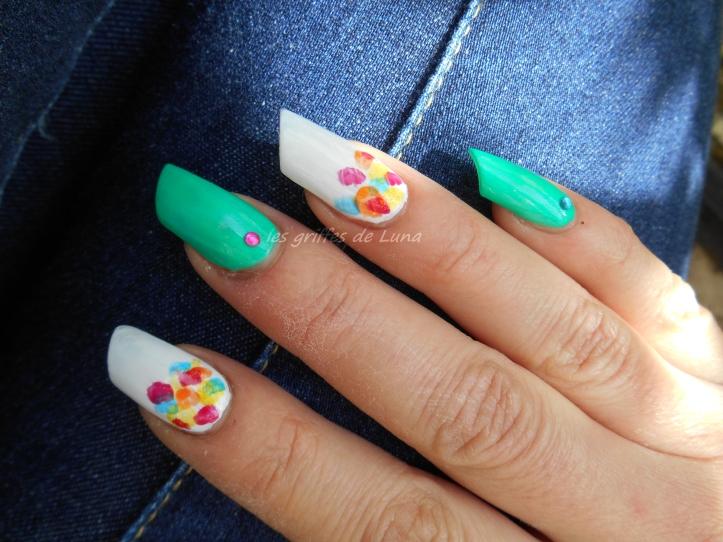 Nail art Touches de couleurs 2