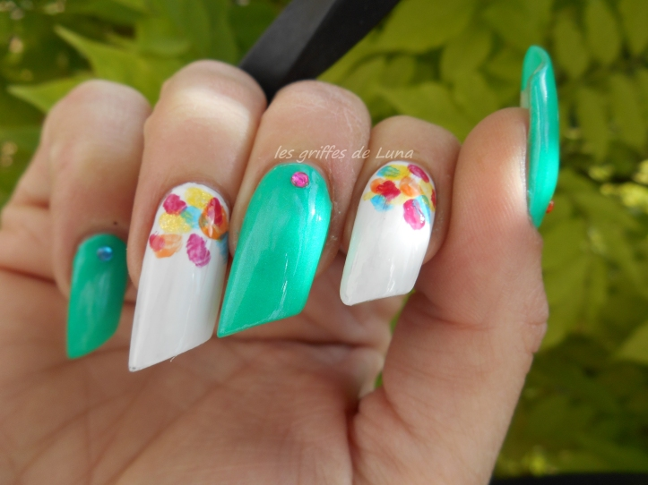 Nail art Touches de couleurs 3