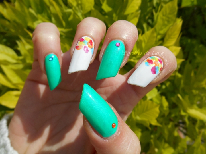 Nail art Touches de couleurs 4