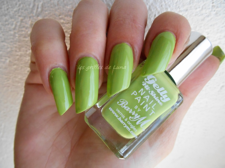 BARRY M - Gelly - Key lime 1