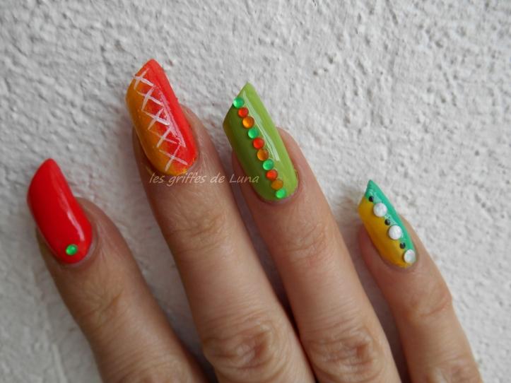 Nail art Inspiration bracelet 1