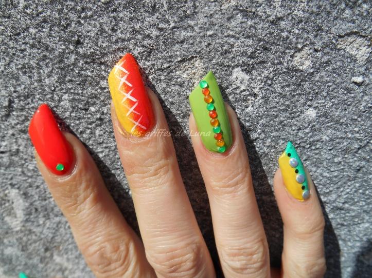 Nail art Inspiration bracelet 2