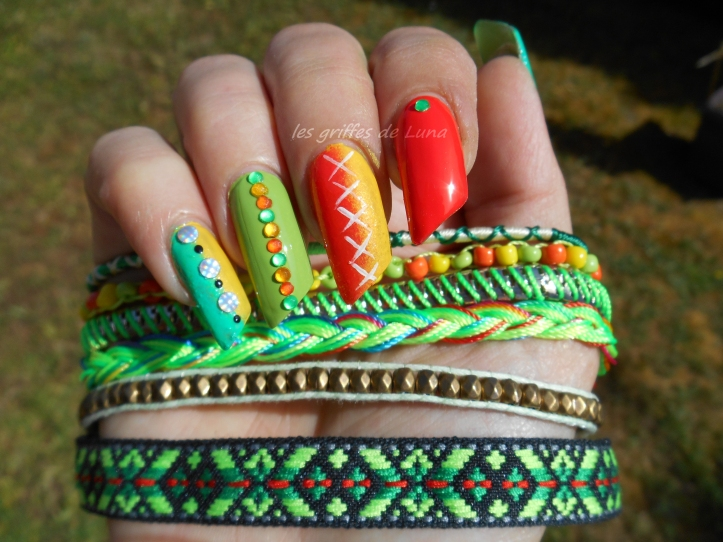 Nail art Inspiration bracelet 3