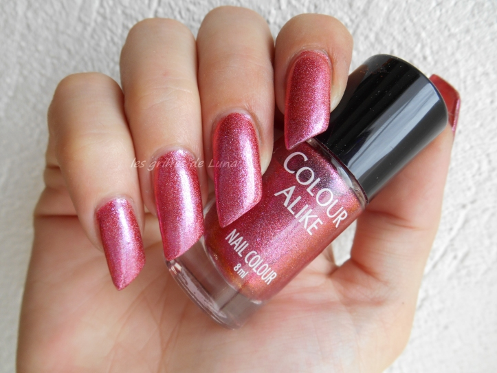 COLOUR ALIKE 550 duochrome rose holo 1