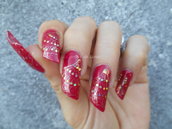 Nail art Eventails 2