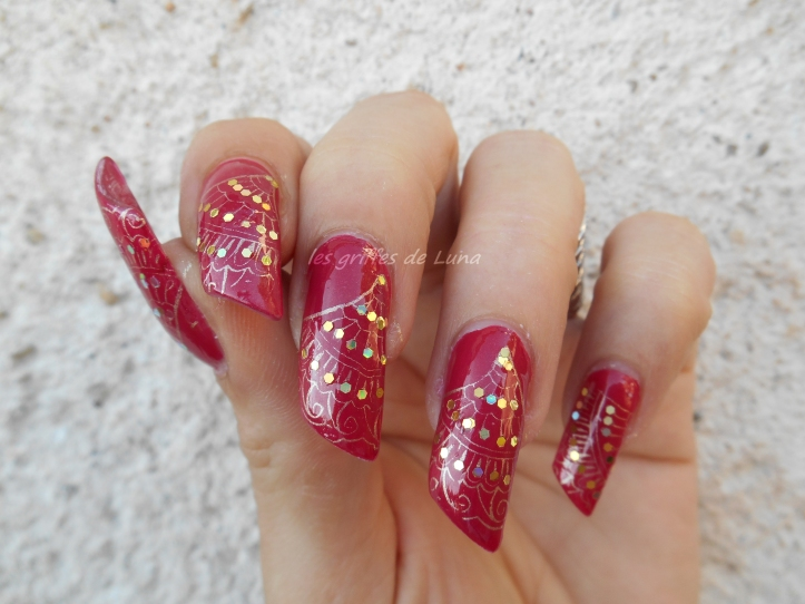 Nail art Eventails 3