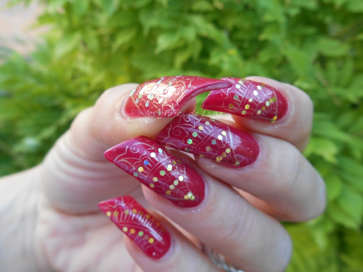 Nail art Eventails 4