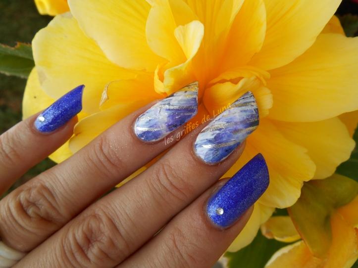 Nail art Foil raté 1