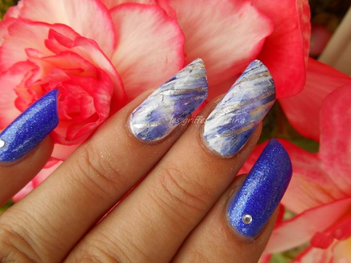 Nail art Foil raté 2