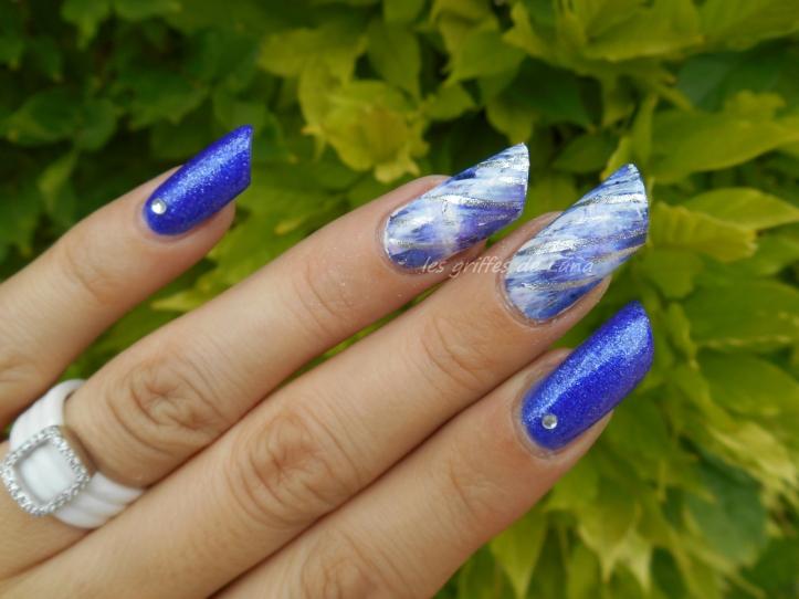 Nail art Foil raté 3