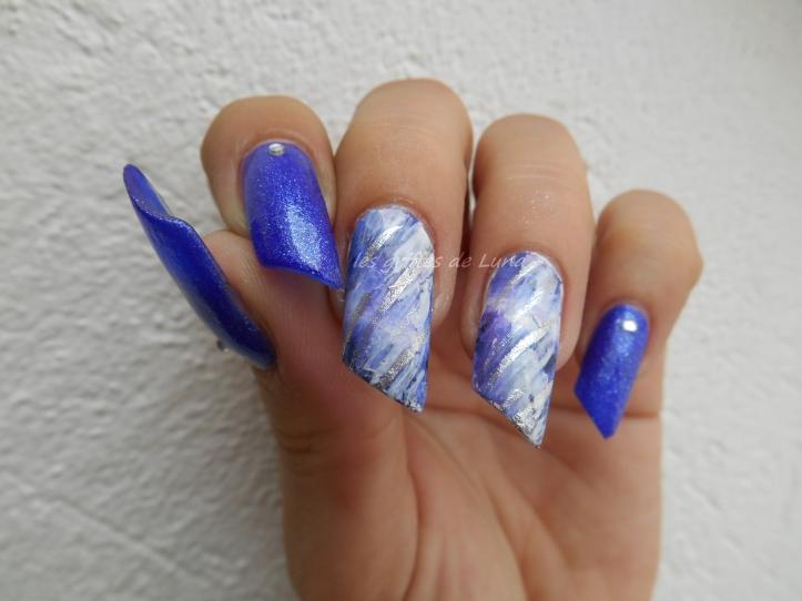 Nail art Foil raté 4