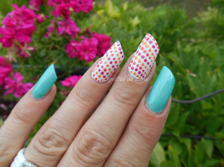 Nail art Multicolor 1