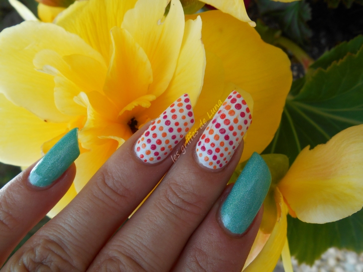 Nail art Multicolor 3