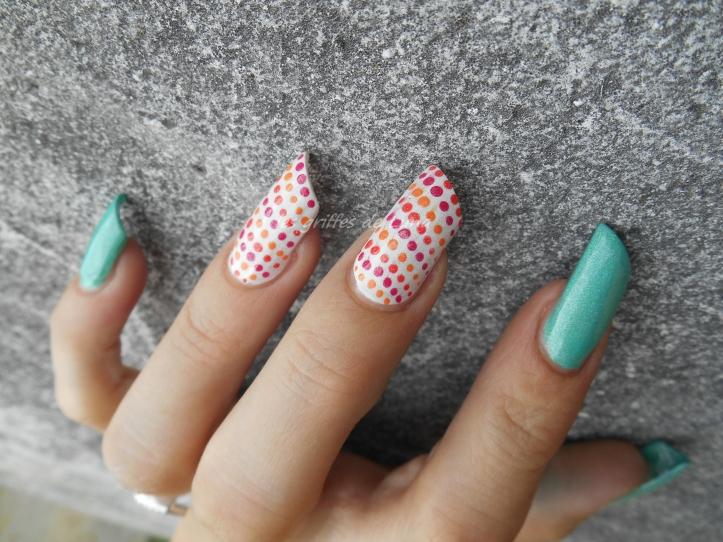 Nail art Multicolor 4