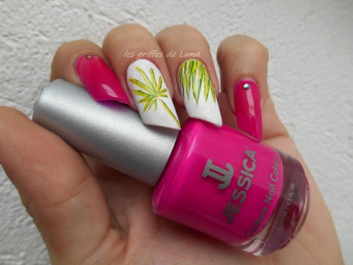 Nail art Palmier 5