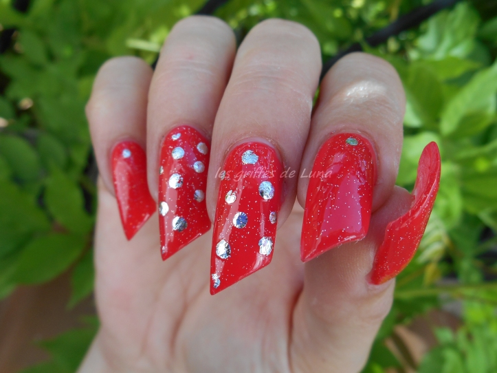 Nail art Points en foil 2