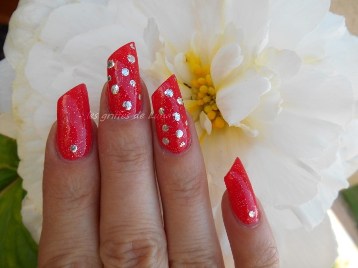 Nail art Points en foil 3