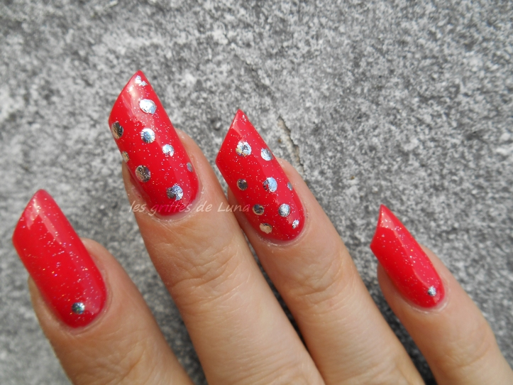 Nail art Points en foil 4