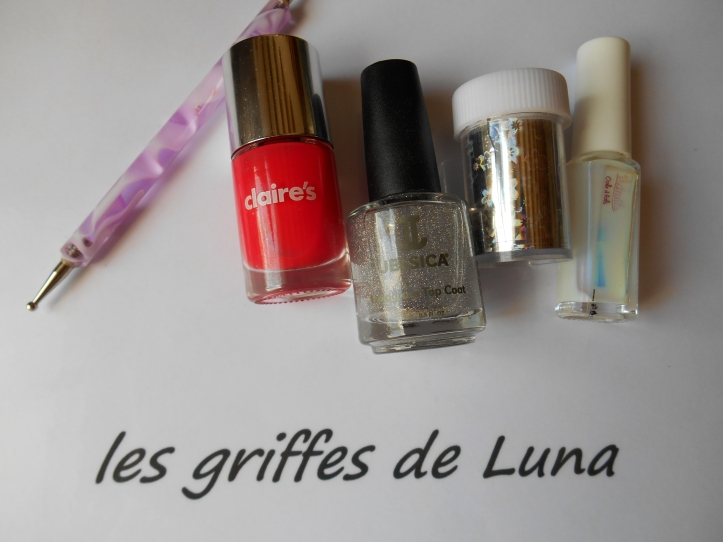 Nail art Points en foil materiel