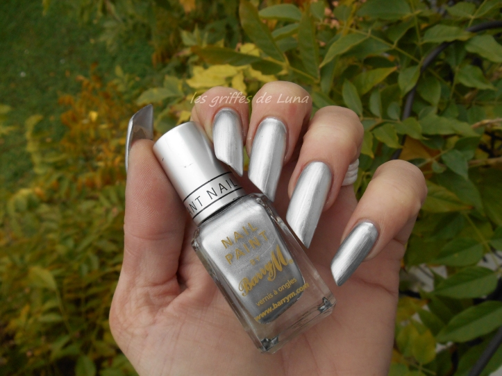 BARRY M 319 Foil effects argent 1
