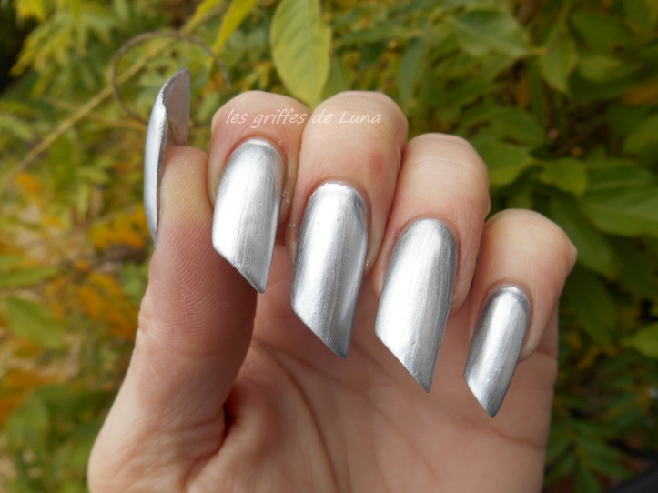 BARRY M 319 Foil effects argent 3