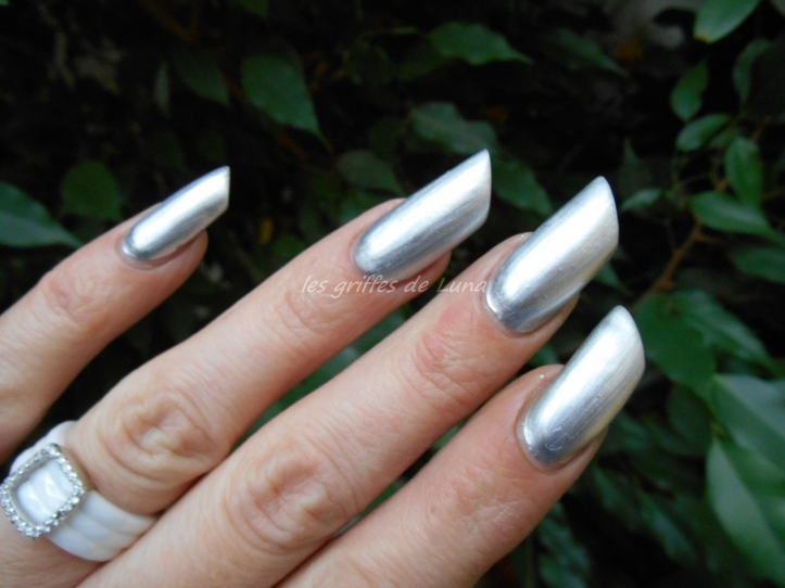 BARRY M 319 Foil effects argent 4
