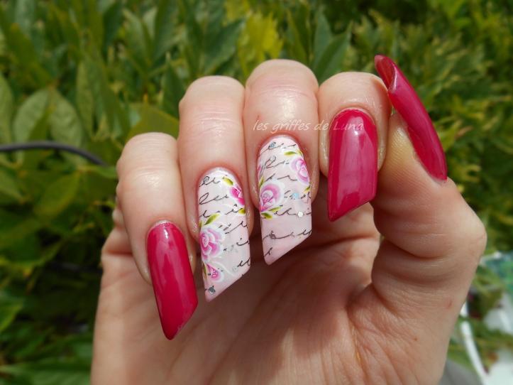 Nail art Romantique 3