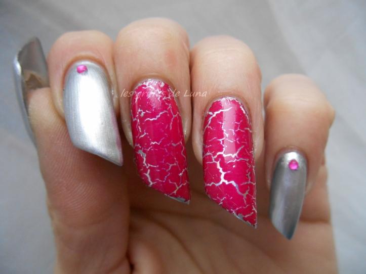 Nail art Foil & argent 3