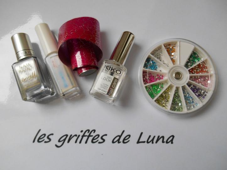 Nail art Foil & argent materiel