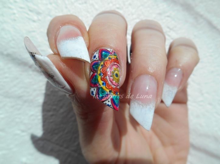 Nail art premier Stamping inversé 1
