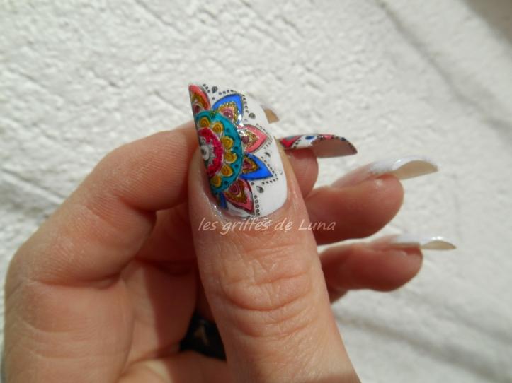 Nail art premier Stamping inversé 2