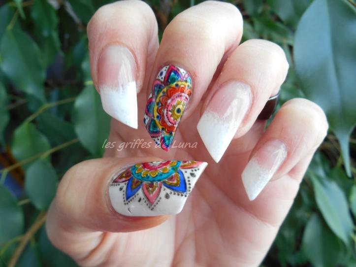 Nail art premier Stamping inversé 4