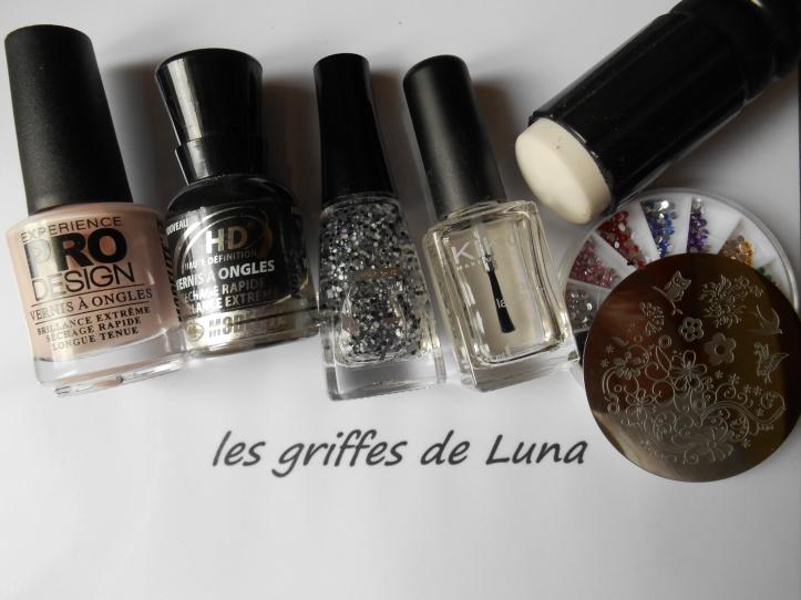 Nail art Sobriety materiel