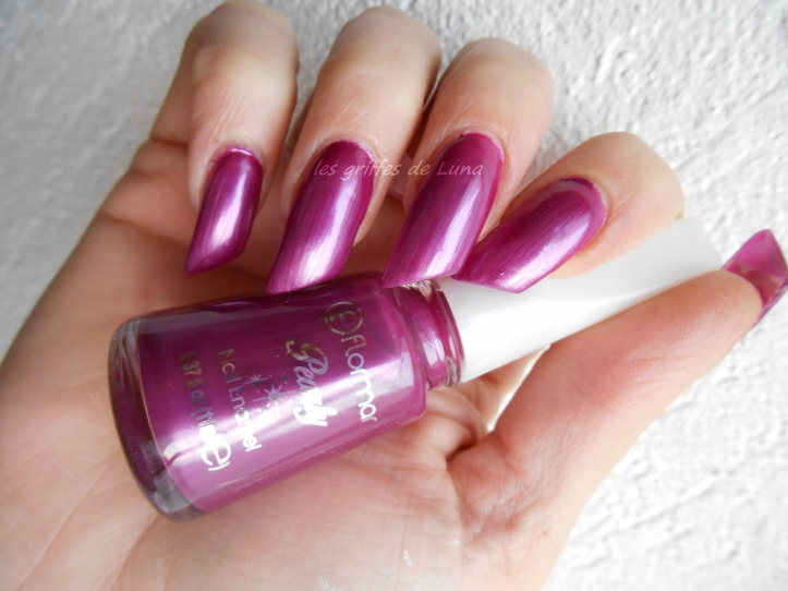 FLORMAR Pearly PL129 Purplehaute couture 3