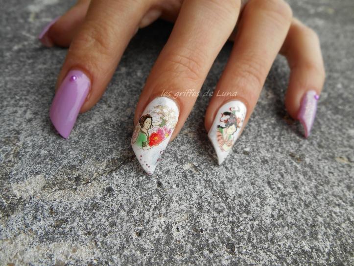 Nail art Inspirations d'Asie 4