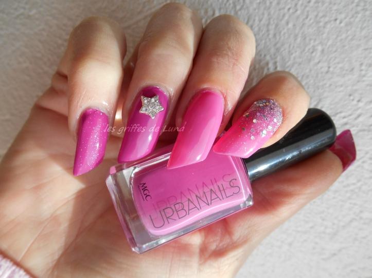 Nail art Pink princess 1