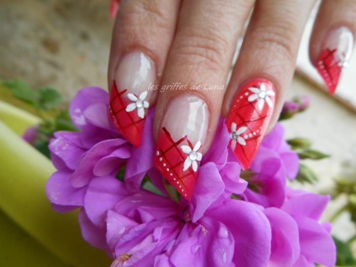 Nail art Printanier 1