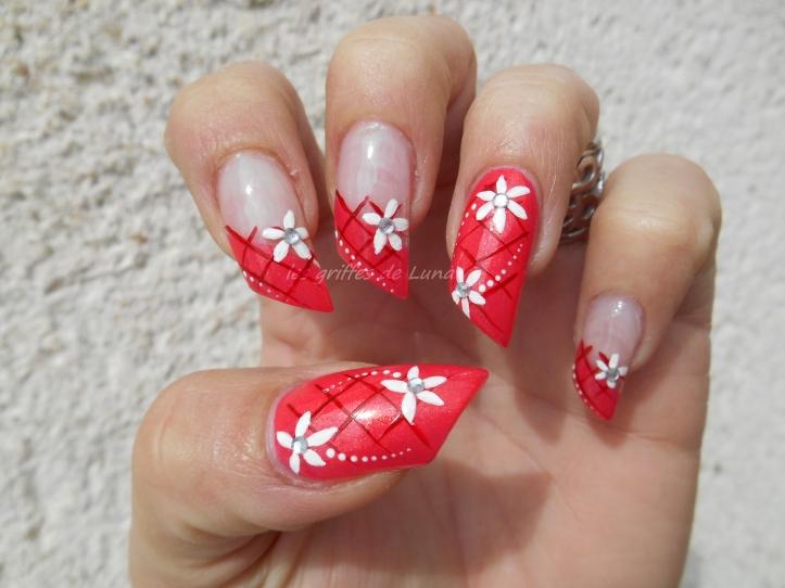 Nail art Printanier 4