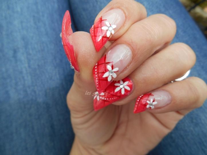 Nail art Printanier 5