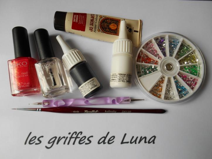 Nail art Printanier materiel