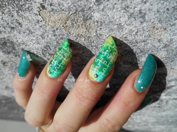 Nail art Puzzle 4