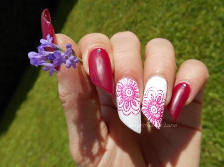 Nail art Stamping simple 2