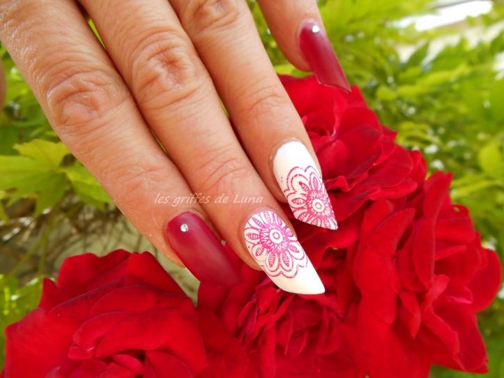 Nail art Stamping simple 3